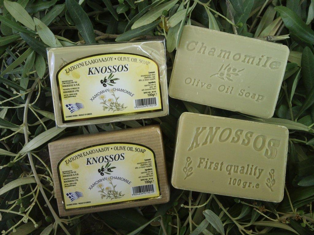 751 knossos olivove mydlo hermanek 100 g