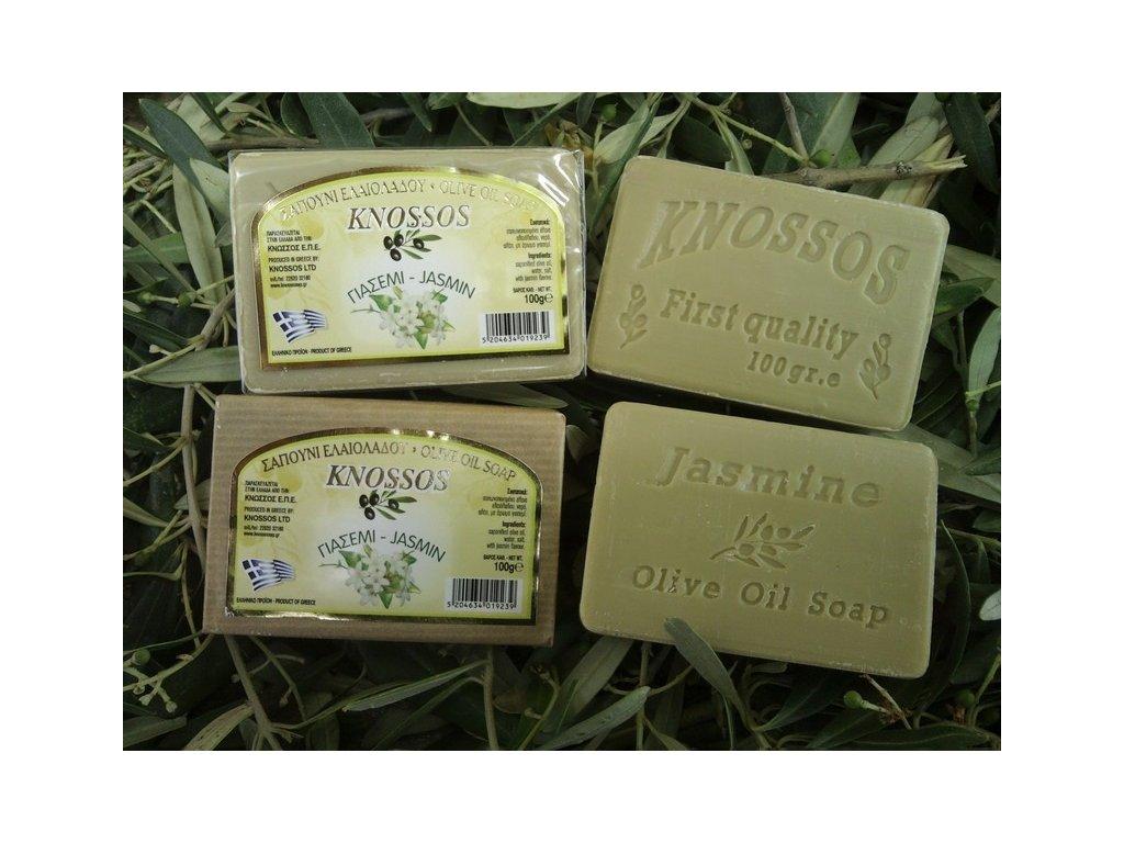 295 knossos olivove mydlo jasmin 100g