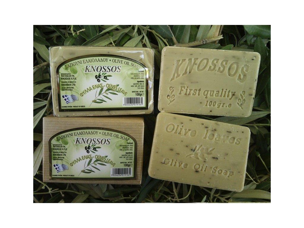 310 knossos olivove mydlo olivove listy 100 g