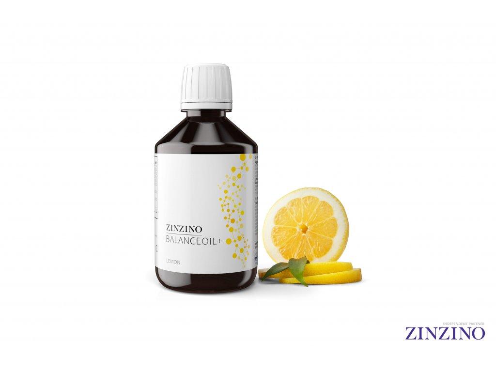Zinzino   BalanceOil+ Citron 300ml   Natureforlife.cz