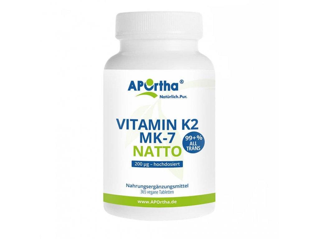 Aportha | Vitamin K2 MK-7 | Natureforlife.cz