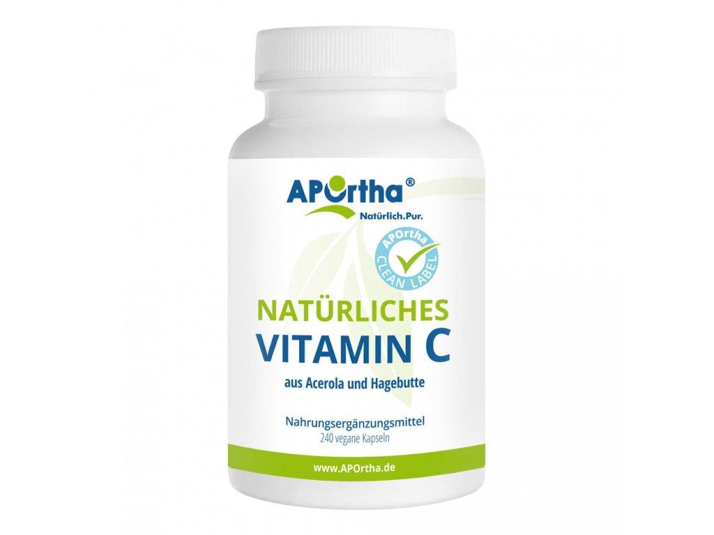 Aportha   Přírodní vitamin C (210mg)   Natureforlife.cz