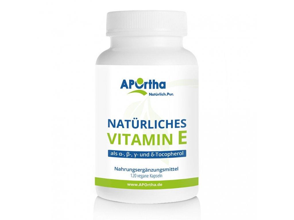 Aportha | Vitamin E - přírodní vitamin E (24mg) | Natureforlife.cz