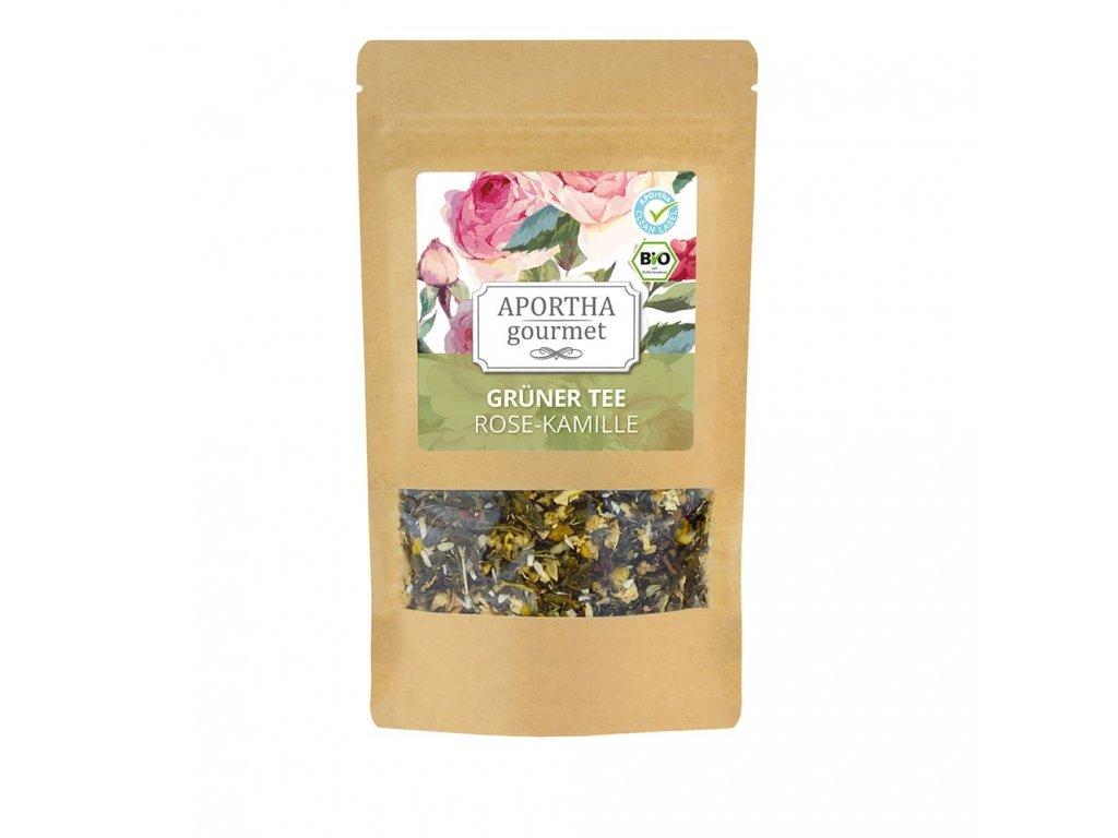 Aportha | Gourmet, zelený čaj - heřmánek růžový | Natureforlife.cz