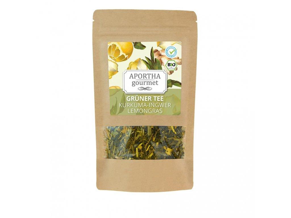 Aportha   Gourmet, zelený čaj - kurkuma, zázvor   Natureforlife.cz