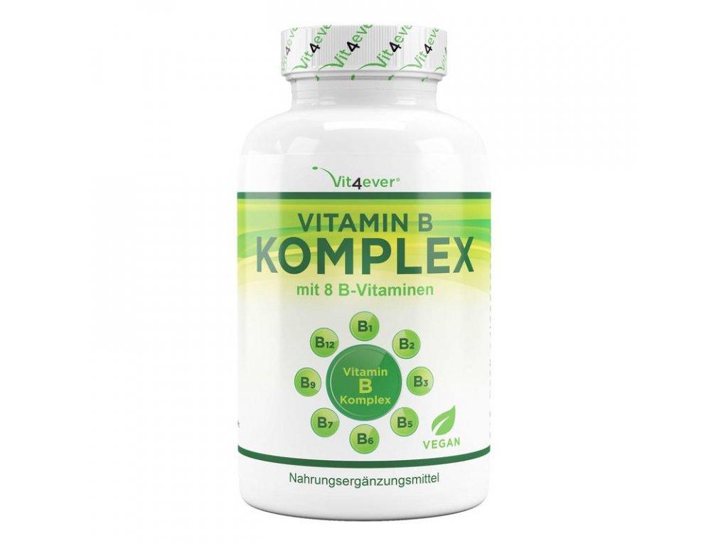 Vit4ever Vitamín B komplex | 8 vitamínů skupiny B 500 tablet | Natureforlife.cz