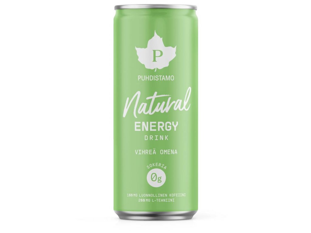 1 natural energy drink apple 330 ml