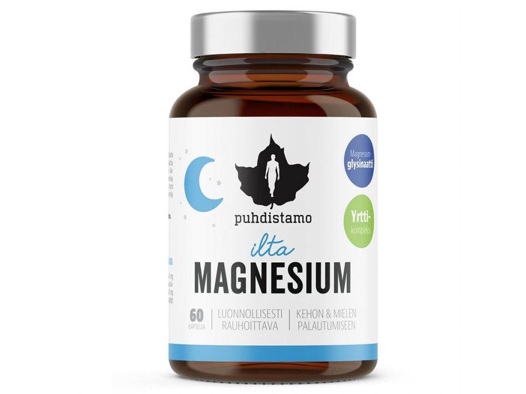 1 Night Magnesium Puhdistamo 60 kapsli