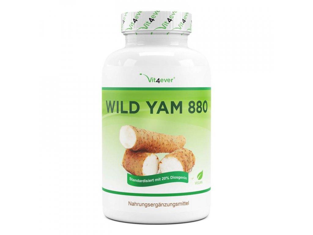 Vit4ever Wild Yam - 440 mg 20% diosgenin 240 kapslí   Natureforlife.cz