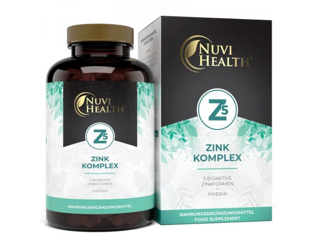 Nuvi Health Zinek komplex chelát Albion®   Natureforlife.cz