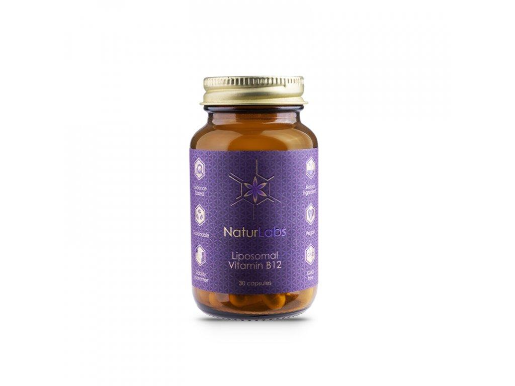 NaturLabs Liposomální vitamín B12 | Natureforlife.cz