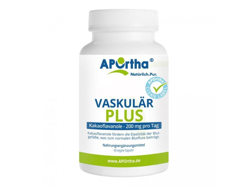 Aportha Vascular Plus - 100 mg kakaových flavanolů - 60 veganských kapslí