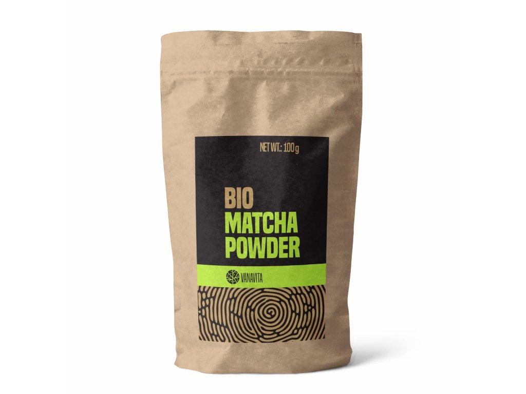 bio matcha powder 100 g vanavita