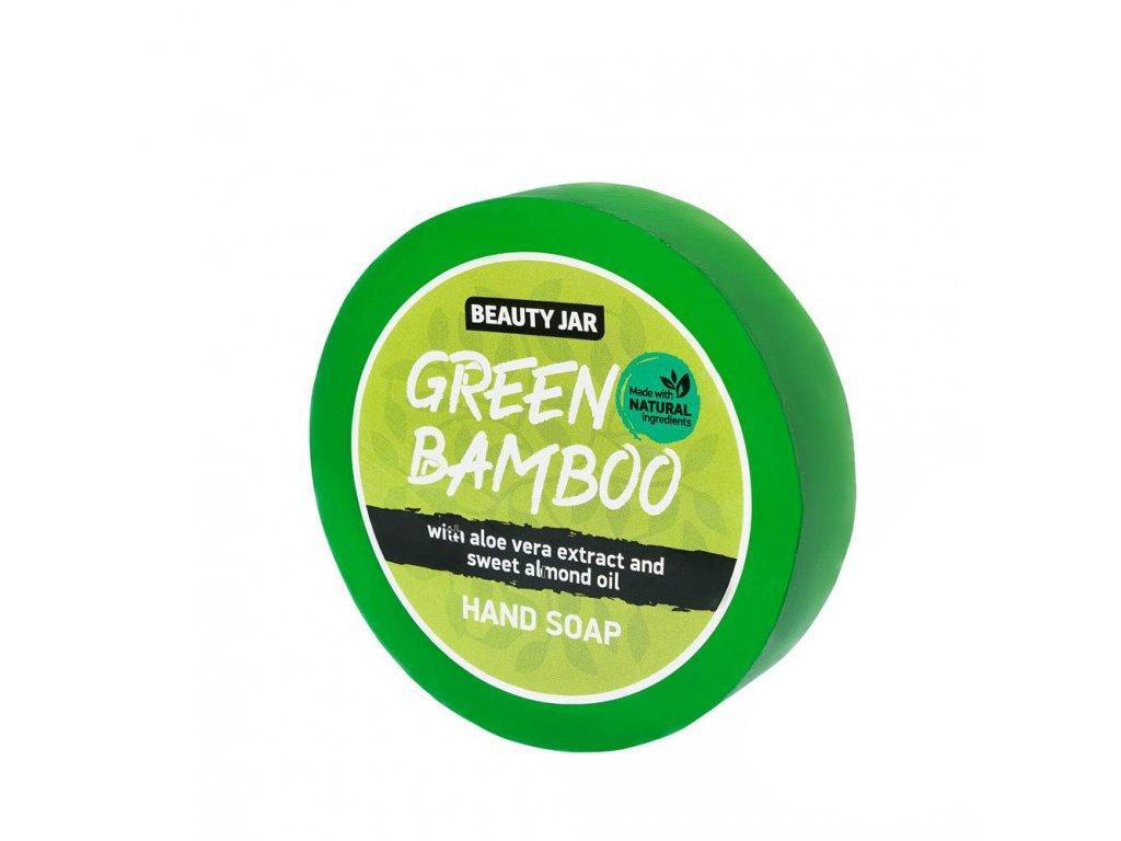 Beauty Jar   Green bamboo - mýdlo   Natureforlife.cz