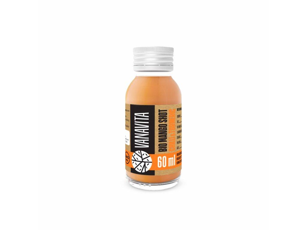 VanaVita - BIO Mango shot chilli & turmeric 60ml