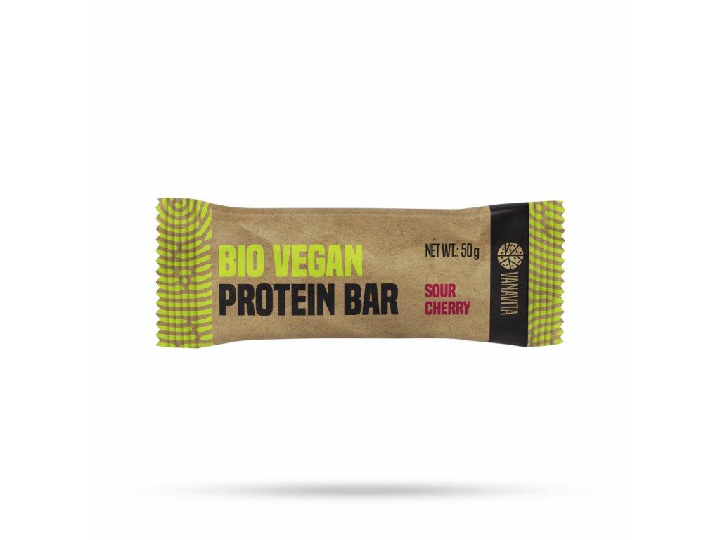 VanaVita - BIO Vegan Protein Bar Višeň 50g