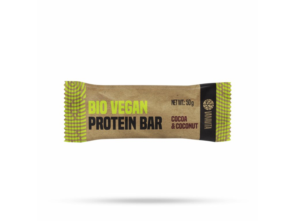 VanaVita - BIO Vegan Protein Bar Kakao a Kokos 50g