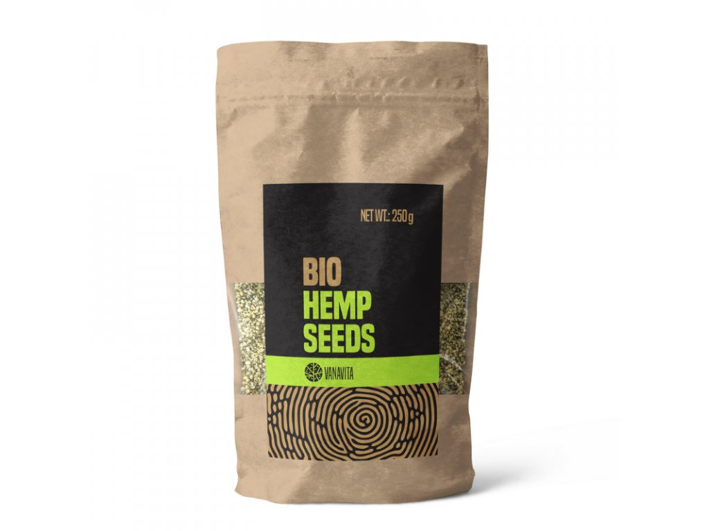 VanaVita - BIO Konopná semínka loupaná 250g