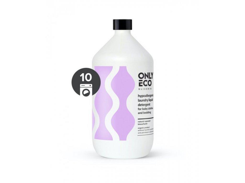 OnlyEco Hypoalergenní tekutý prací prostředek na dětské prádlo 1 l