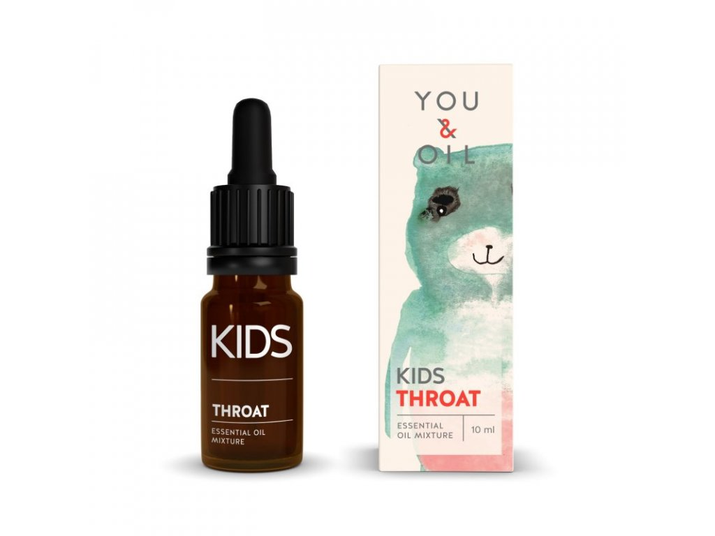 You & Oil KIDS Bioaktivní směs pro děti - Bolest v krku 10 ml