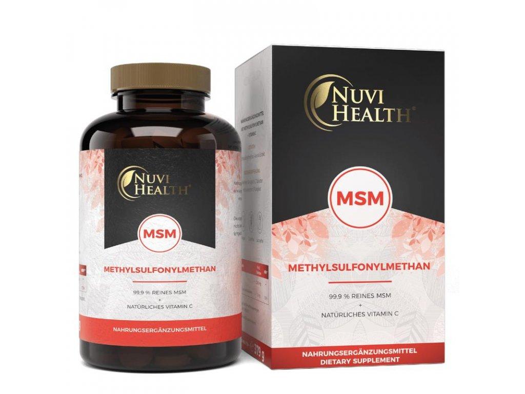 Nuvi Health - MSM - 365 tablet   Natureforlife.cz