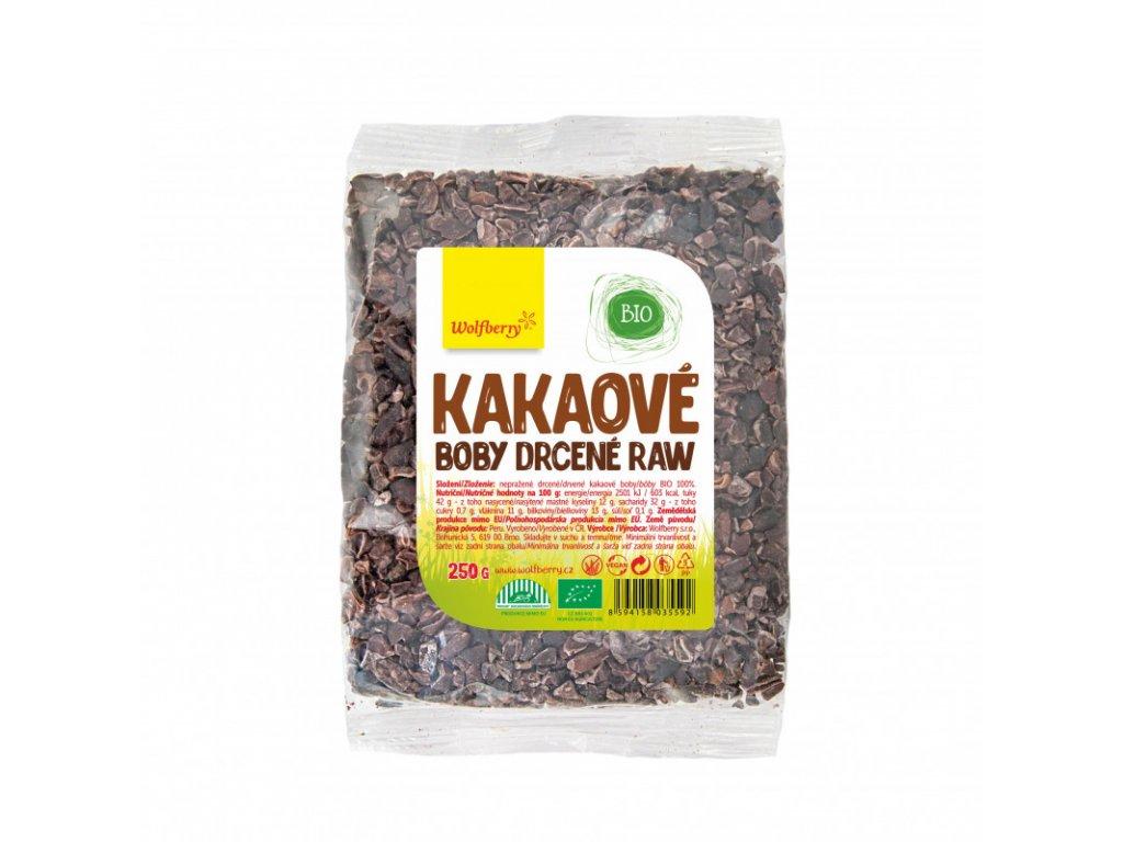 kakaove boby drcene wolfberry bio 250 g