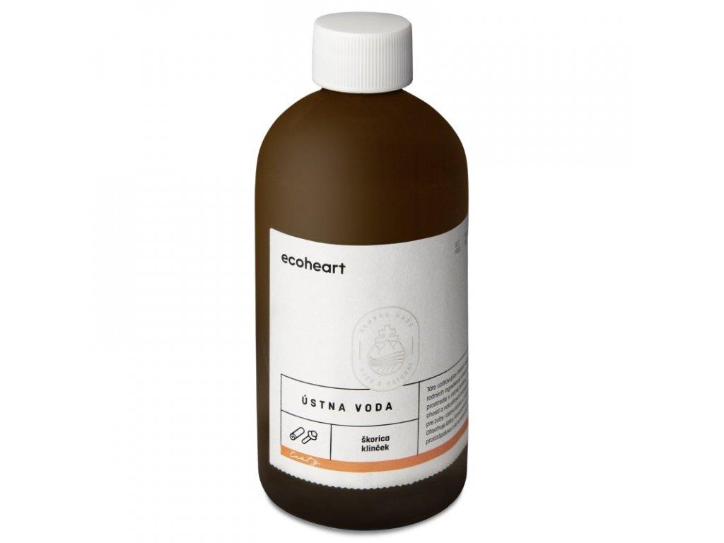 Ecoheart Ústní voda Hřebíček a skořice (300 ml) Natureforlife