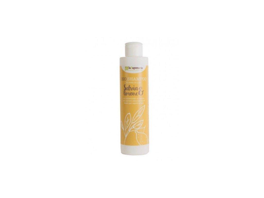 laSaponaria BIO Šampon se šalvějí a citrónem (200 ml) Natureforlife
