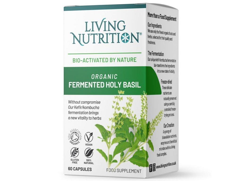 LIVING NUTRITION | Bazalka posvátná | Natureforlife.cz