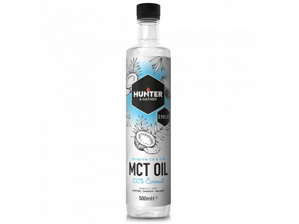 Hunter & Gather | MCT Olej 500ml | Natureforlife.cz