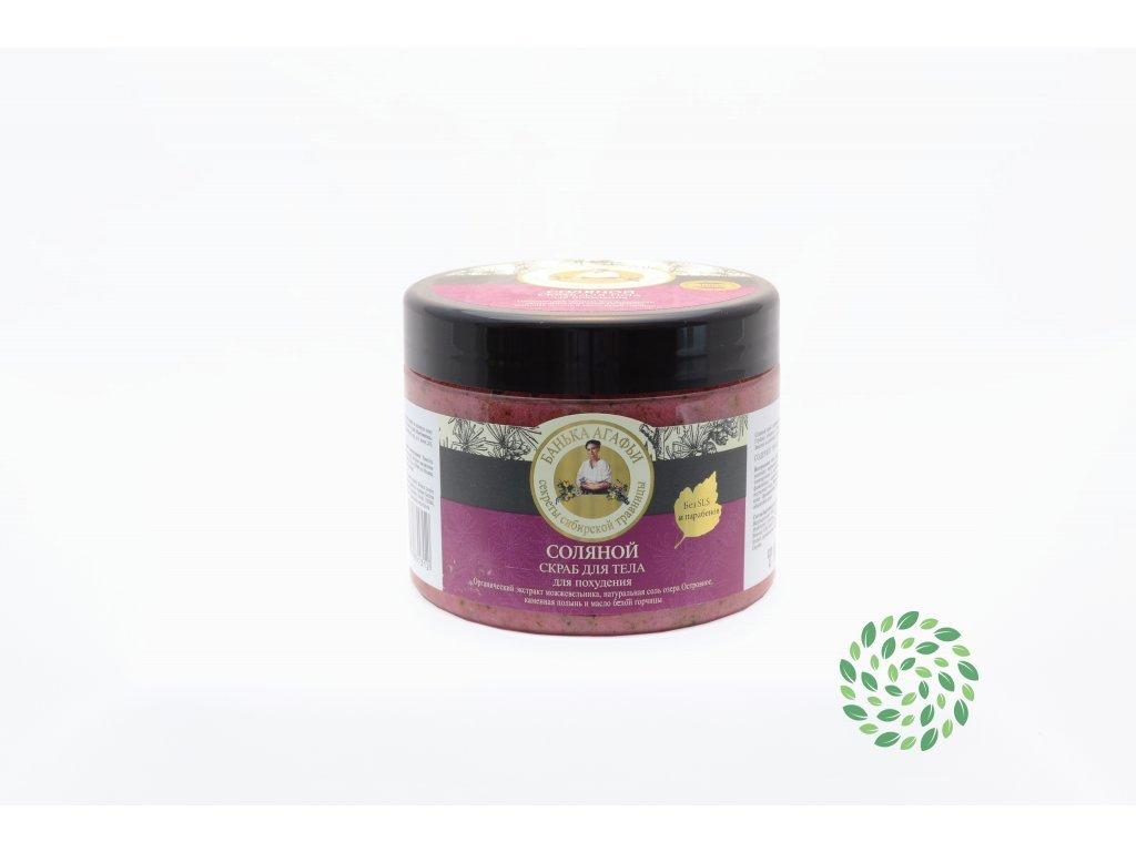 Babička Agafia | Solný tělový peeling | Natureforlife.cz
