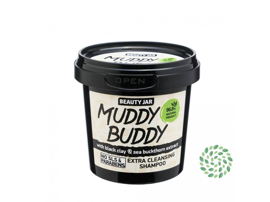 Beauty Jar   Muddy buddy - hloubkově čistící šampon   Natureforlife.cz