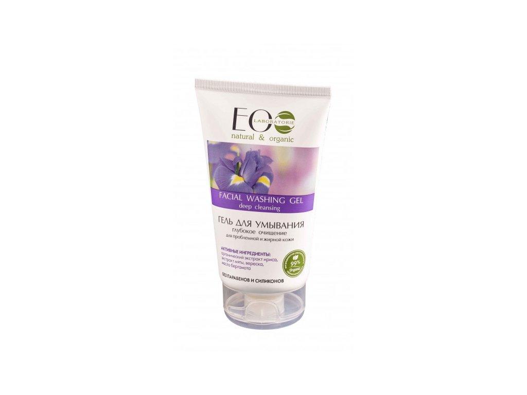 EOLab - Gel na mytí obličeje, hloubkové čištění na problémovou a mastnou pokožku - 150ml