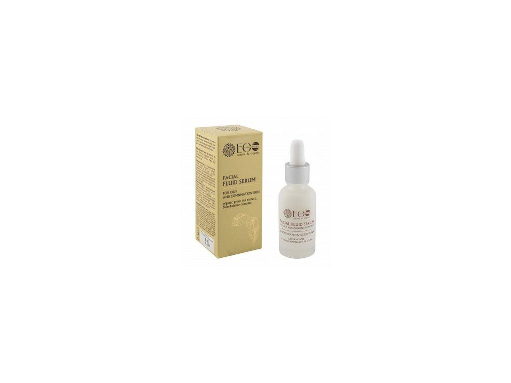 Tekuté sérum na mastnou a kombinovanou pleť - EOLab - 30 ml