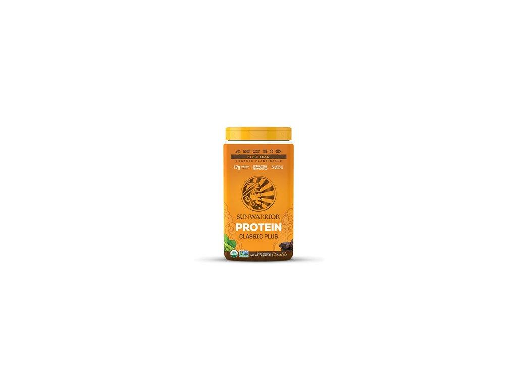 Sunwarrior   Protein Classic Plus BIO čokoláda 750g   Natureforlife.cz