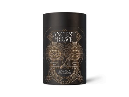Ancient and Brave | Cacao + Grass Fed Collagen 250g | Natureforlife.cz