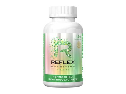 Reflex nutrition   Albion Ferrochel 120 kapslí   Natureforlife.cz