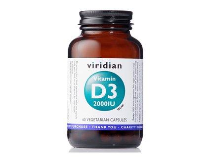 Vitamin D3 2000iu   60 kapslí   Natureforlife.cz