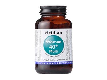 40+ Woman Multivitamin | 60 kapslí | Natureforlife.cz