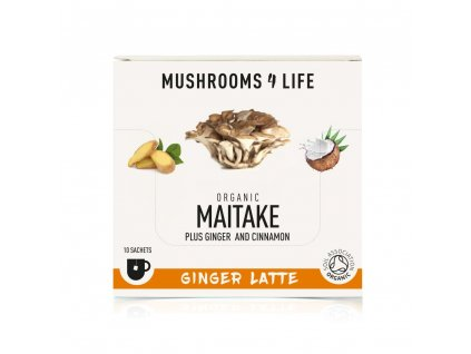 MUSHROOMS4 Life | Kokosové laté s houbou sírovec 55g | Natureforlife.cz