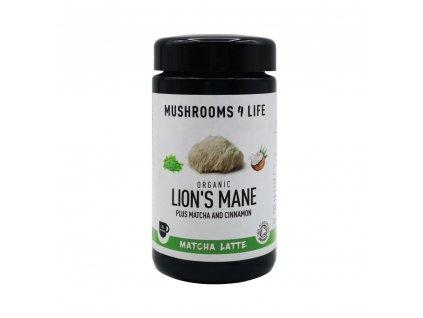 MUSHROOMS4 Life | Kokosové laté s houbou hericium 110g | Natureforlife.cz