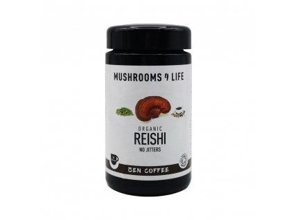 MUSHROOMS4 Life | Rozpustná káva s houbou reishi 80g | Natureforlife.cz