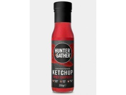 Hunter & Gather   Rajčatový kečup bez cukru SPICY   Natureforlife.cz