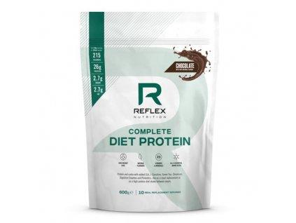Reflex nutrition | Complete Diet Protein 600g , 5 příchutí | Natureforlife.cz
