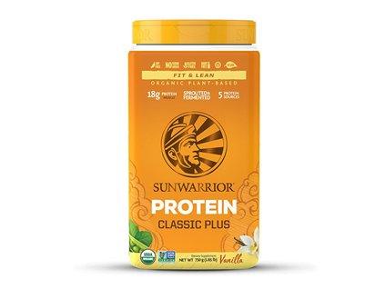 Sunwarrior | Protein Classic Plus BIO vanilka 750g | Natureforlife.cz
