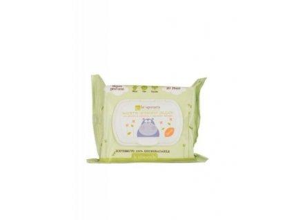 laSaponaria Dětské vlhčené hygienické ubrousky BIO (20 ks)