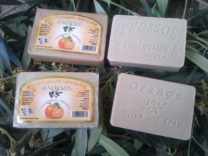 298 knossos olivove mydlo pomeranc 100 g