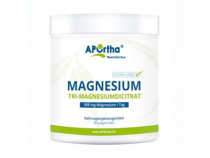 Aportha | Tri-magnesiumdicitrát (154mg) | Natureforlife.cz