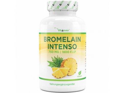Vit4ever Bromelain Intenso 750 mg 1800 FIP 120 kapslí | Natureforlife.cz