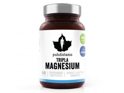 1 Tripple Magnesium 60 kapsli